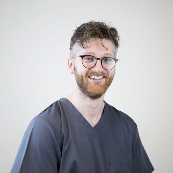 Tom Friar dentist in colne